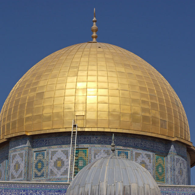 """Israel, Jerusalem, Old City, Dome of the Rock"" stock image"