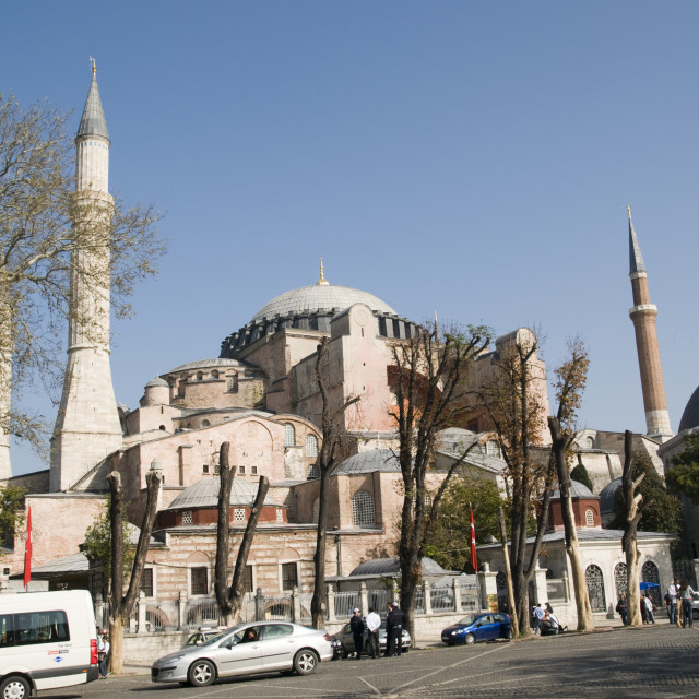 """Istanbul, Hagia Sophia"" stock image"