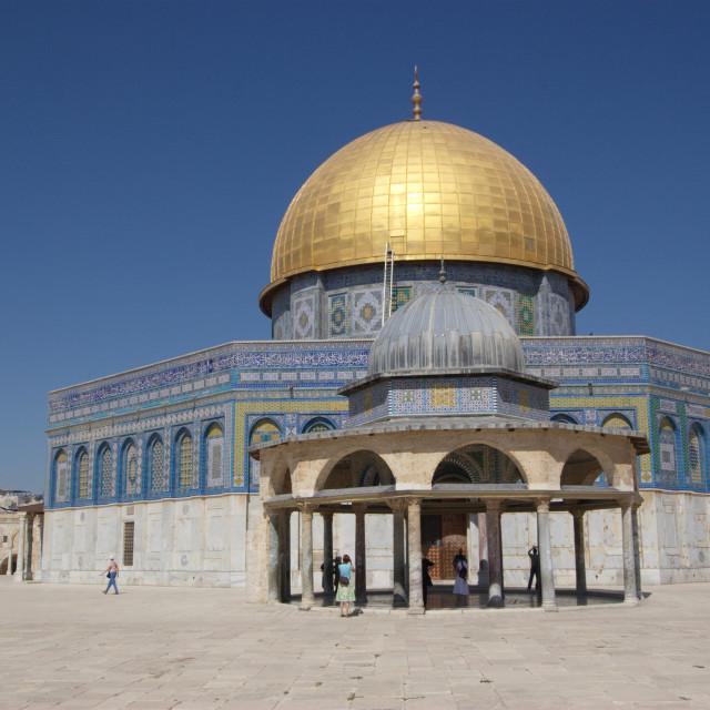 """Israel, Jerusalem, Old City, Dome of the Rock"" stock image"
