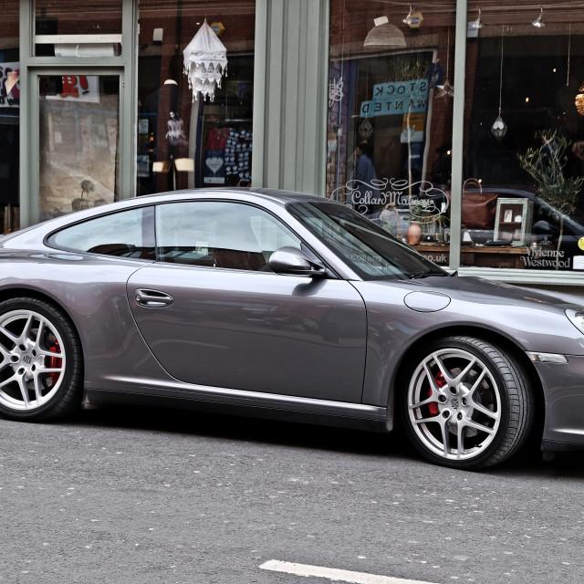 """""""Porsche 997"""" stock image"""