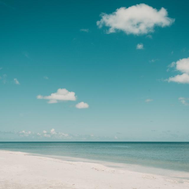 """White sand"" stock image"