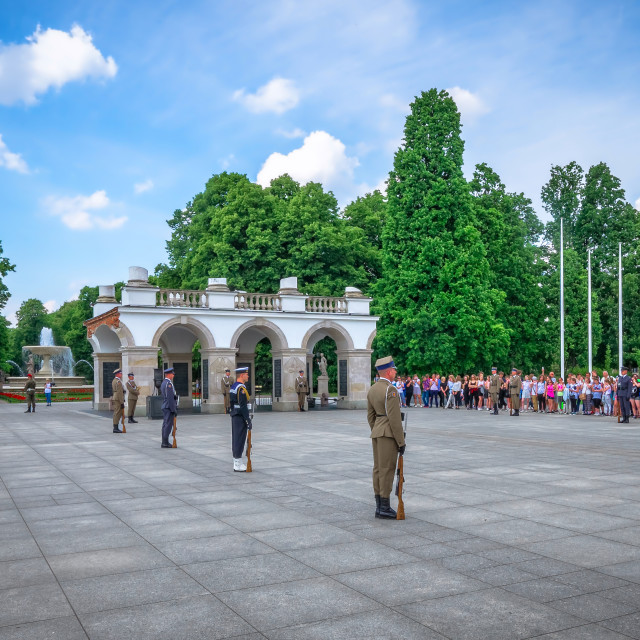 """""""Tomb of the Unknown Soldier"""" stock image"""