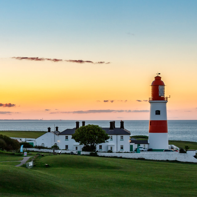 """""""Souter evening view"""" stock image"""