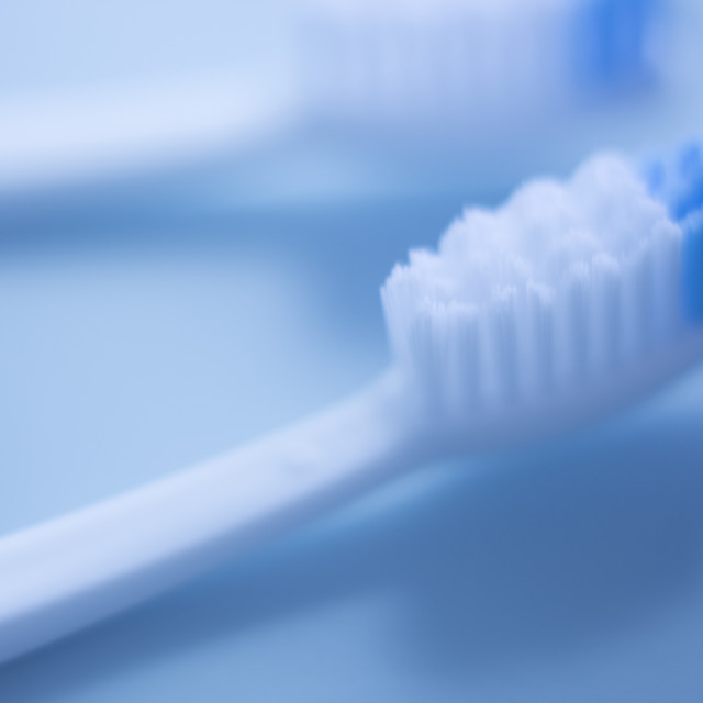 """Dental toothbrush isolated"" stock image"