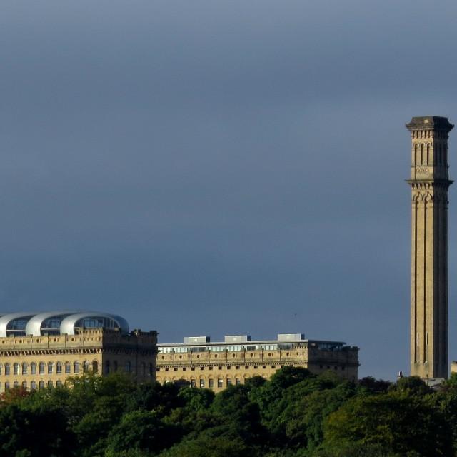 """Listers Mill, Manningham, Bradford"" stock image"