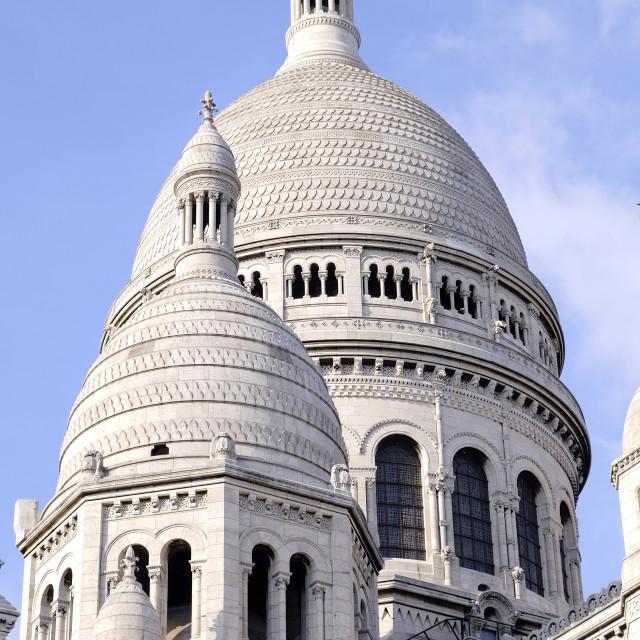"""""""Sacre Coeur Dome"""" stock image"""