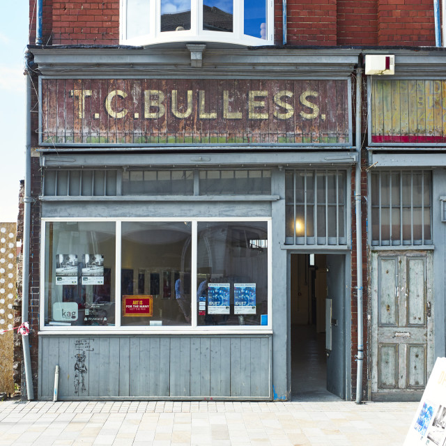 """Kingston Art gallery in Humber Street, Hull"" stock image"