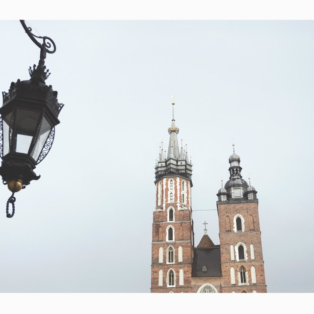 """Krakow Cracow Poland"" stock image"