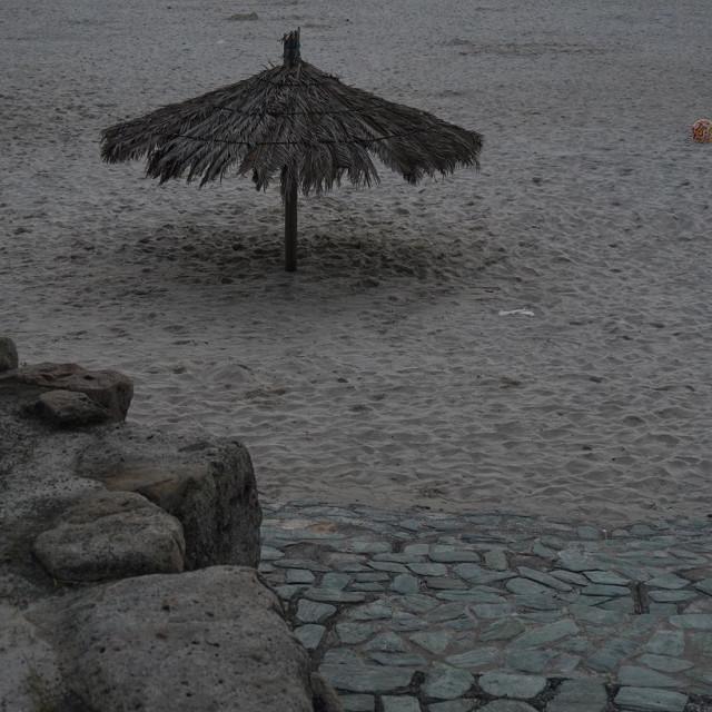 """beach in Shirahama"" stock image"