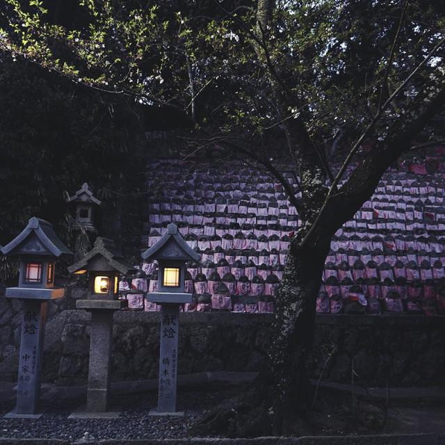 """""""Japan lanterns"""" stock image"""