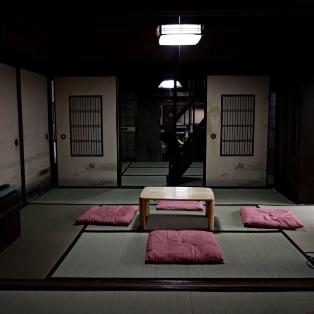 """""""Old Ninja House Yagyu"""" stock image"""