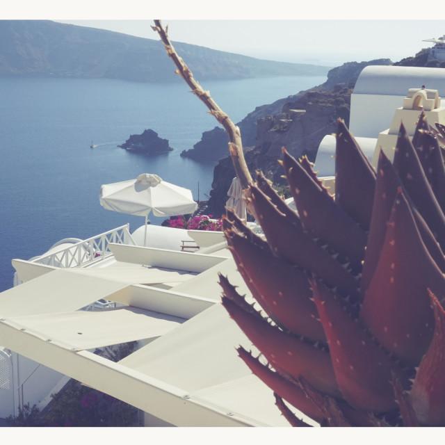 """Creece Oia Santorini"" stock image"