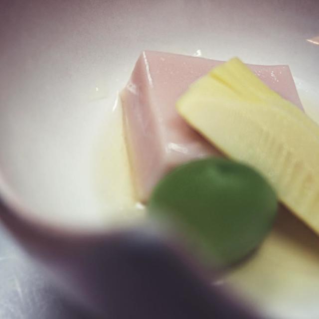 """Pink tofu"" stock image"