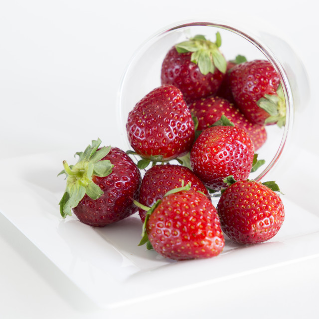 """Strawberries"" stock image"