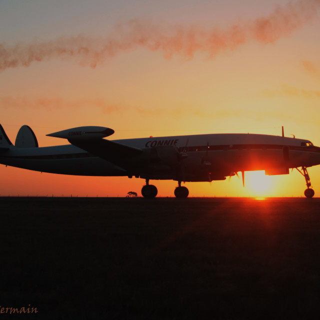 """Connie Sunset"" stock image"