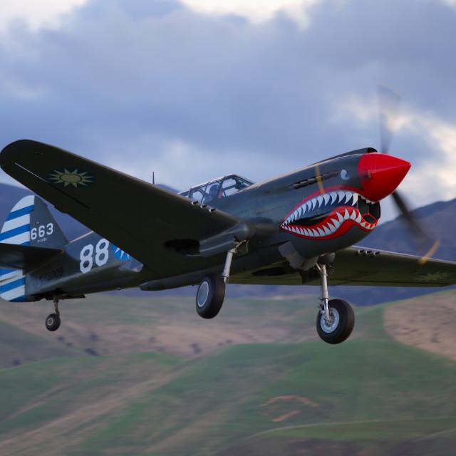 """Kittyhawk take-off"" stock image"