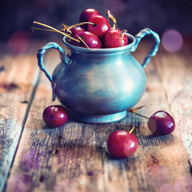"""Cherries"" stock image"