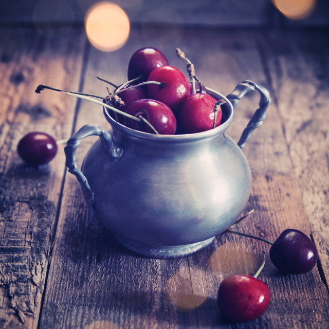 """Cherries"" stock image"