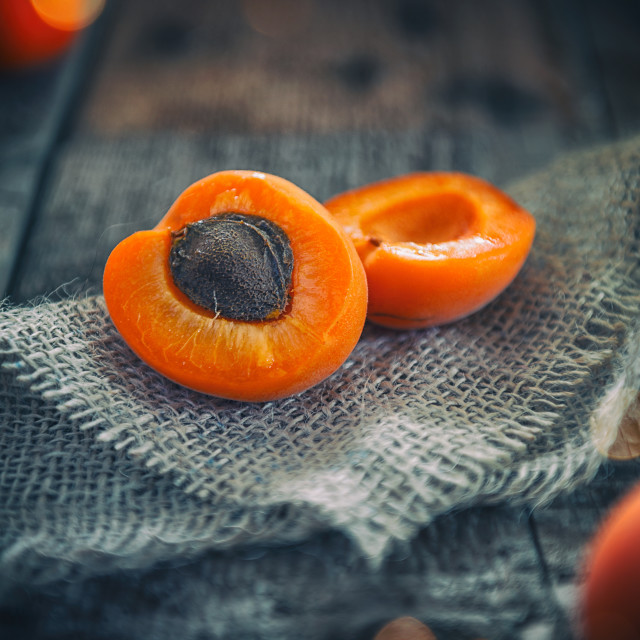 """Apricots"" stock image"