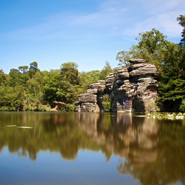 """Plumpton Rocks"" stock image"