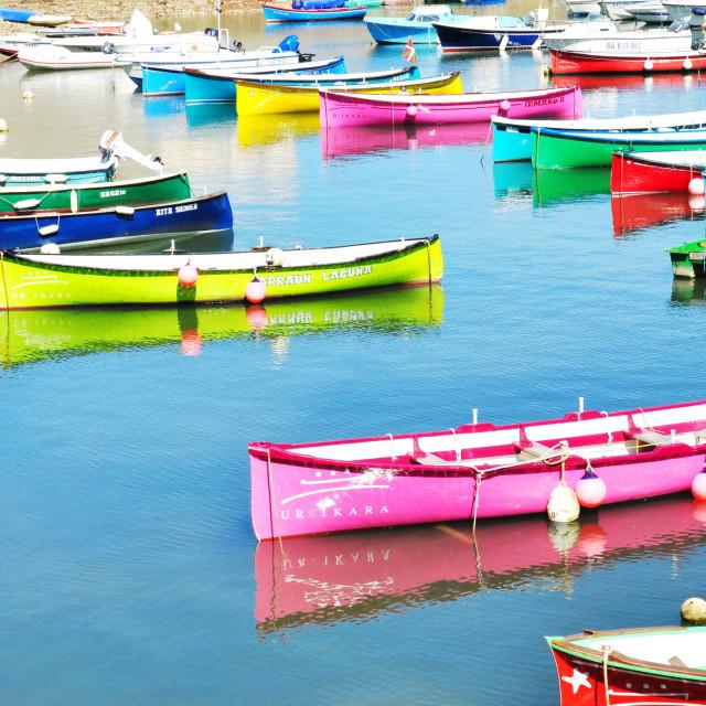 """""""Saint-Jean-de-Luz_ Basque Country"""" stock image"""