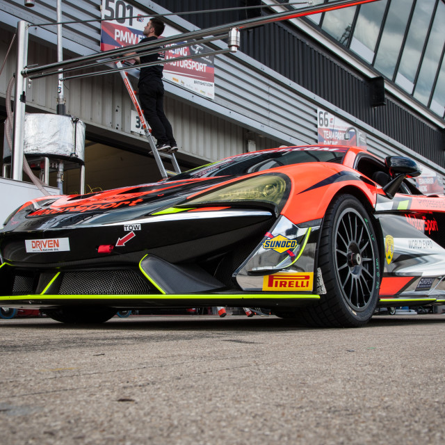 """""""Optimum McLaren"""" stock image"""