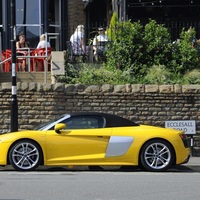"""Audi R8"" stock image"
