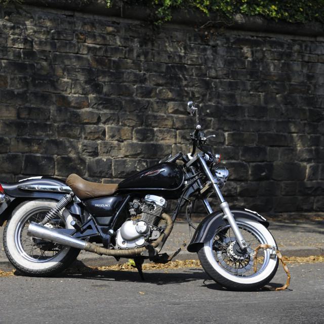 """Suzuki Marauder Motorcyle"" stock image"
