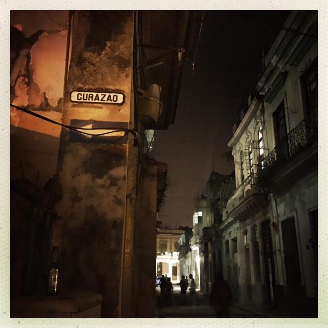 """""""Havana after Dark"""" stock image"""