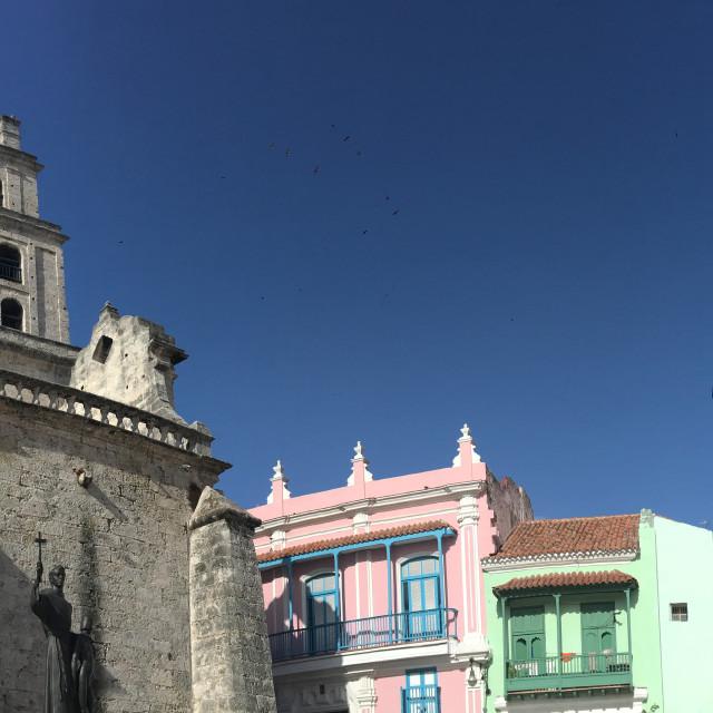 """Historic Havana Architecture"" stock image"