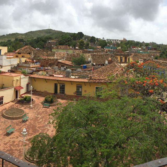 """""""Trinidad View"""" stock image"""