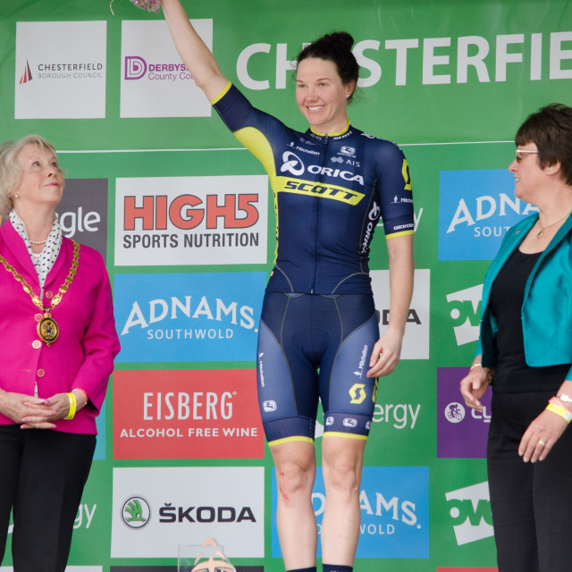 """Stage Winner - Sarah Roy"" stock image"