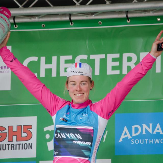 """Best British Rider - Hannah Barnes"" stock image"