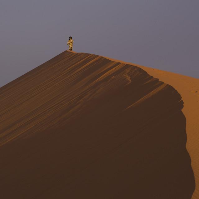 """""""Desert Er-Ghebbi Morocco"""" stock image"""