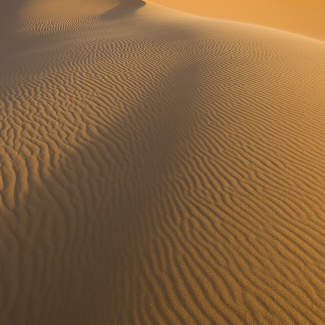 """Erchebbi desert in to morocco"" stock image"