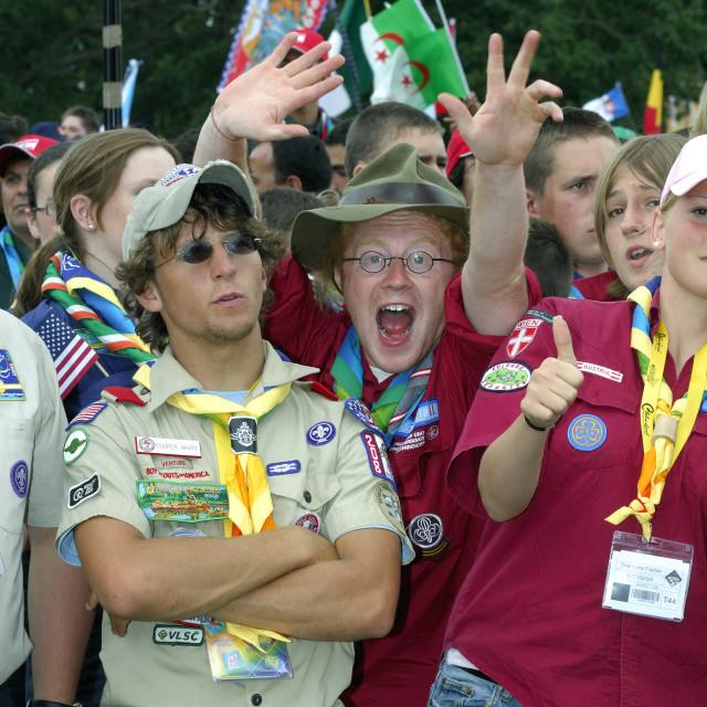 """""""jamboree scout"""" stock image"""