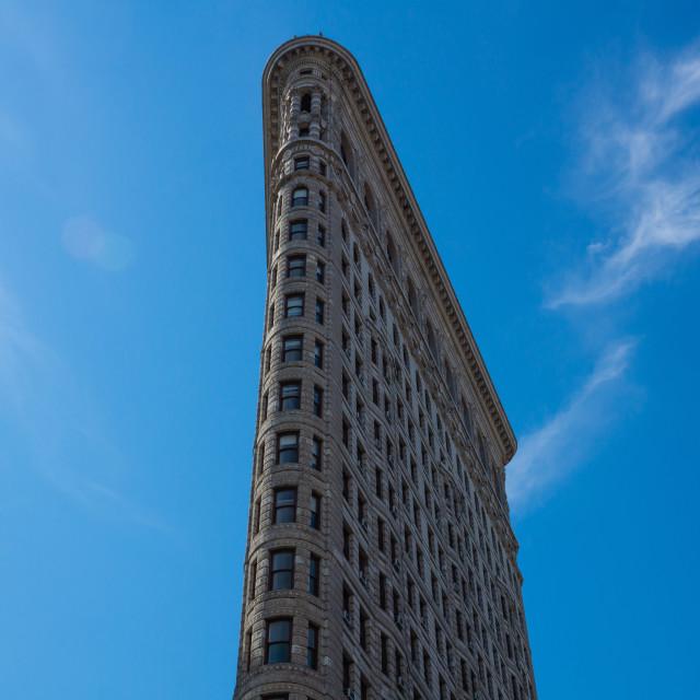 """Flat Iron Building"" stock image"
