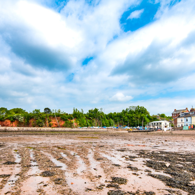 """Lympstone, Devon"" stock image"