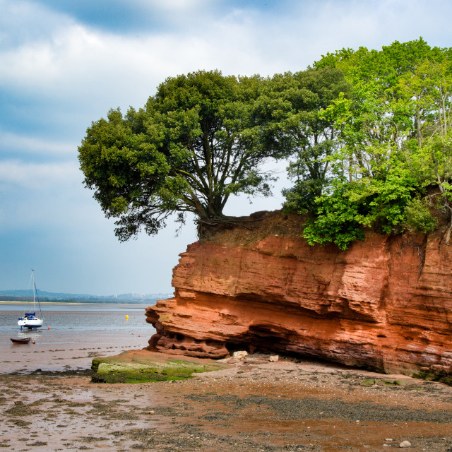 """Darling's Rock, Lympstone."" stock image"