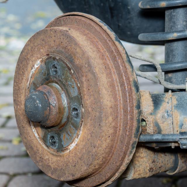 """Tire change"" stock image"