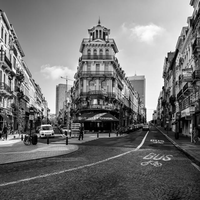 """La Rotonde Brussels"" stock image"