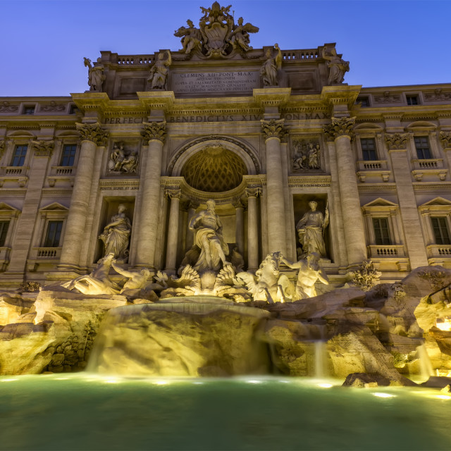 """The Trevi Fountain"" stock image"