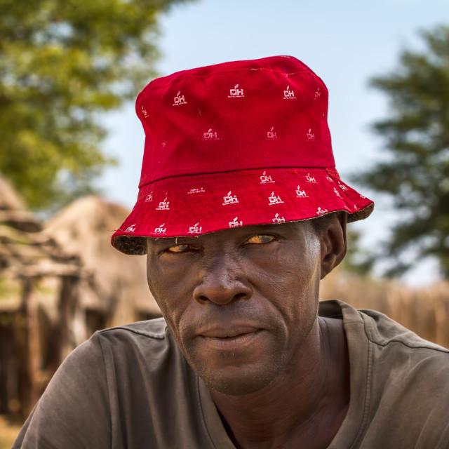 """""""Botswanan Villager"""" stock image"""