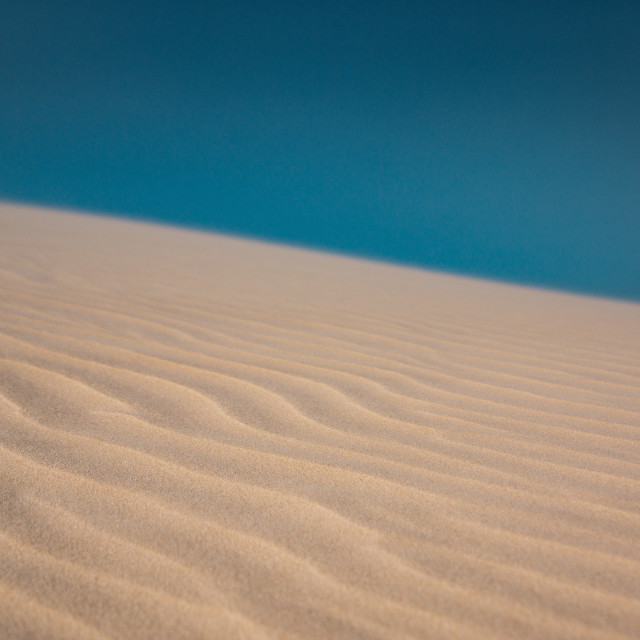 """Sand and Sky"" stock image"