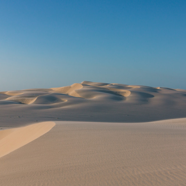"""Dunes of Lencois Maranhenses"" stock image"