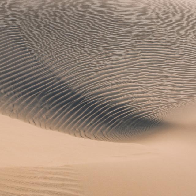 """""""Desert Spiral"""" stock image"""