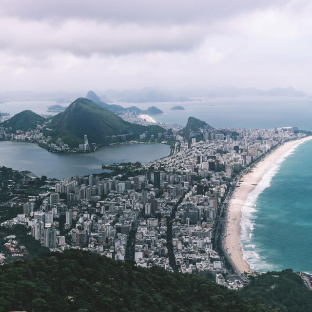 """Moody Rio"" stock image"
