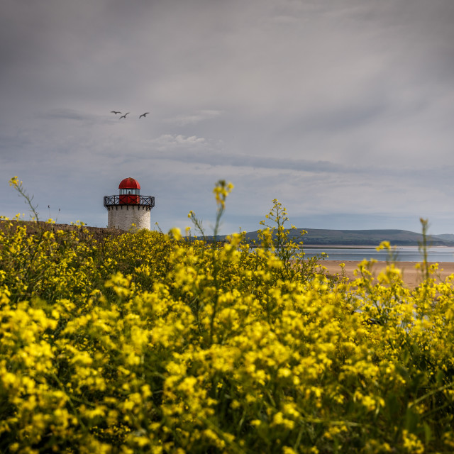 """Burry port Lighthouse"" stock image"