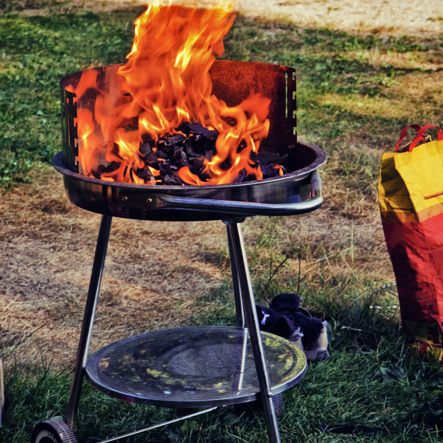 """""""barbecue gril outdoor"""" stock image"""
