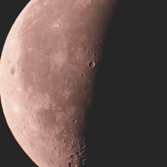 """""""Red Moon"""" stock image"""